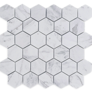 Biało-Szary Heksagon