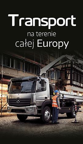 Transport na terenie całej Europy